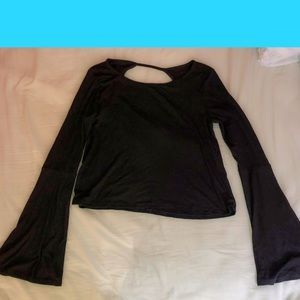 Bell sleeve top from hollister
